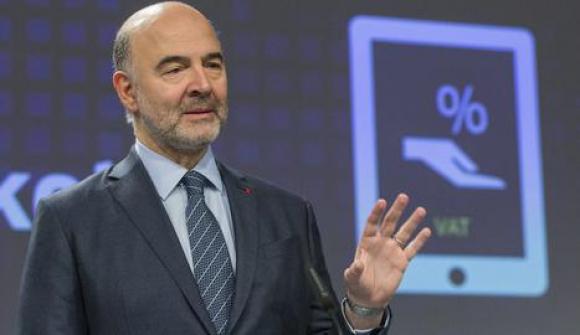 Imagen del comisario Pierre Moscovici