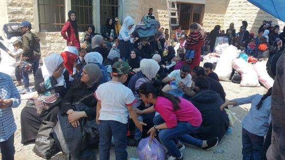 Alrededor de 1,2 millones de sirios retornan a sus hogares