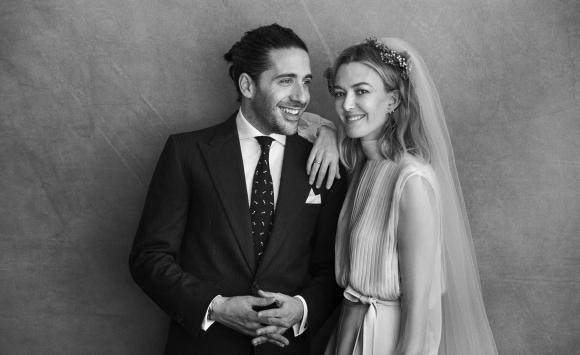 La boda de Marta Ortega y Carlos Torreta