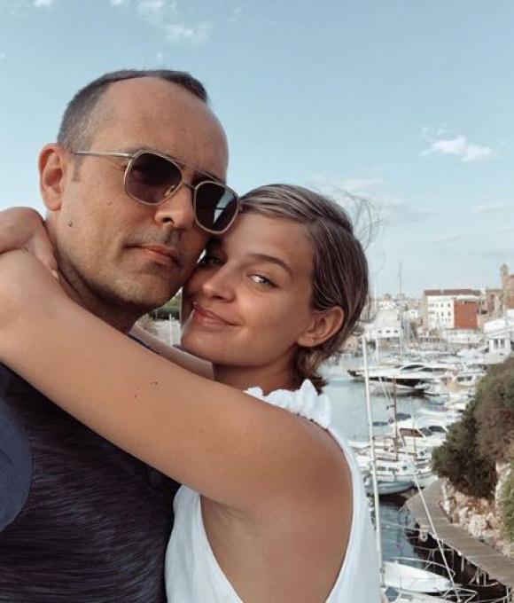 Risto Mejide y Laura Escanes ya son papás