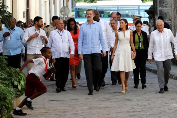 El Rey defiende ante Díaz-Canel la democracia y los derechos humanos