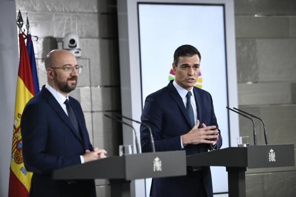 Sánchez demanda a la UE una respuesta económica fuerte