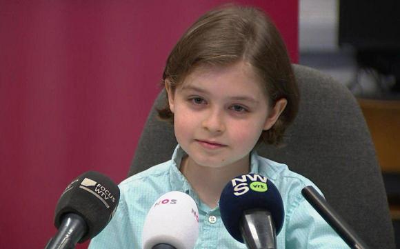 Un niño belga de nueve años, el universitario más joven del mundo