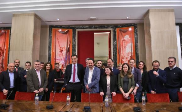 España: la mitad del gabinete de coalición está conformado por mujeres
